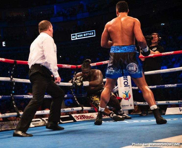 Joe Joyce Punishes Former Champ Bermane Stiverne – Manuel