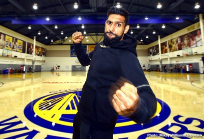 Amir Khan Terence Crawford Boxing News British Boxing
