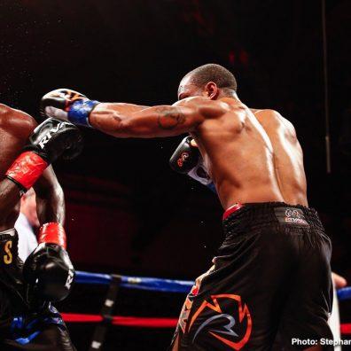 DeAndre Ware Ronald Ellis Boxing News Boxing Results