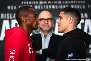 Christian Hammer - Former world champion Erislandy Lara and WBA Super Welterweight Champ Brian Castaño went face-to-face Thursday at the final press conference before they headline action this Saturday live on SHOWTIME from Barclays Center, the home of BROOKLYN BOXING™, and presented by Premier Boxing Champions.