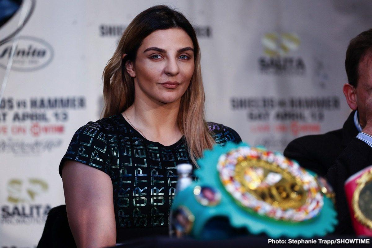 Christina Hammer Claressa Shields Boxing Interviews Boxing News