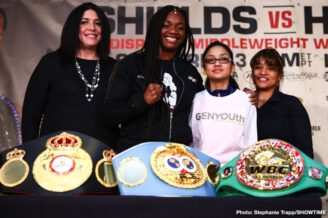Christina Hammer, Claressa Shields - Boxing News