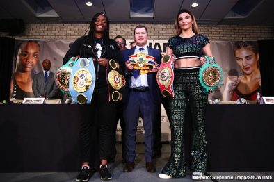 Christina Hammer Claressa Shields Boxing News