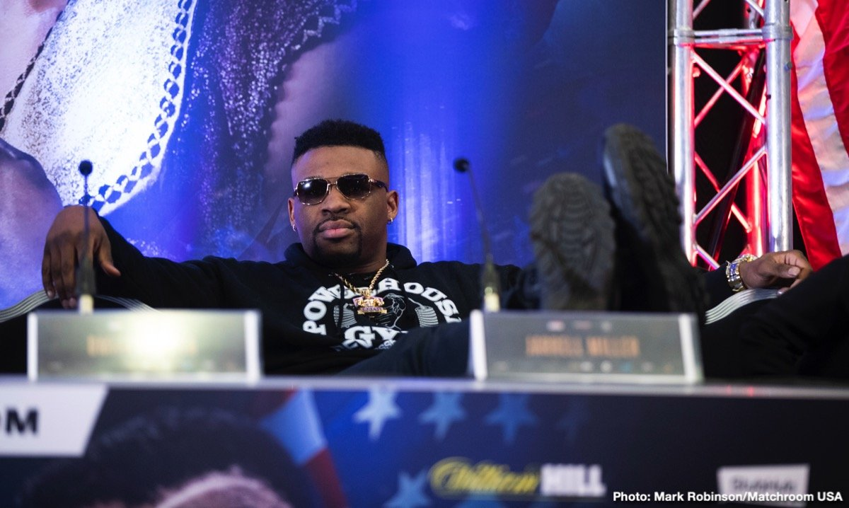 Jarrell Miller - Top Rank are reportedly in negotiations to sign unbeaten heavyweight Jarrell 'Big Baby' Miller (23-0-1, 20 KOs) to a multi-fight deal, according to Mike Coppinger. Top Rank inking the 300+ pound Miller would give them another chess piece to match against lineal heavyweight champion Tyson Fury, who they're trying to turn into a star.