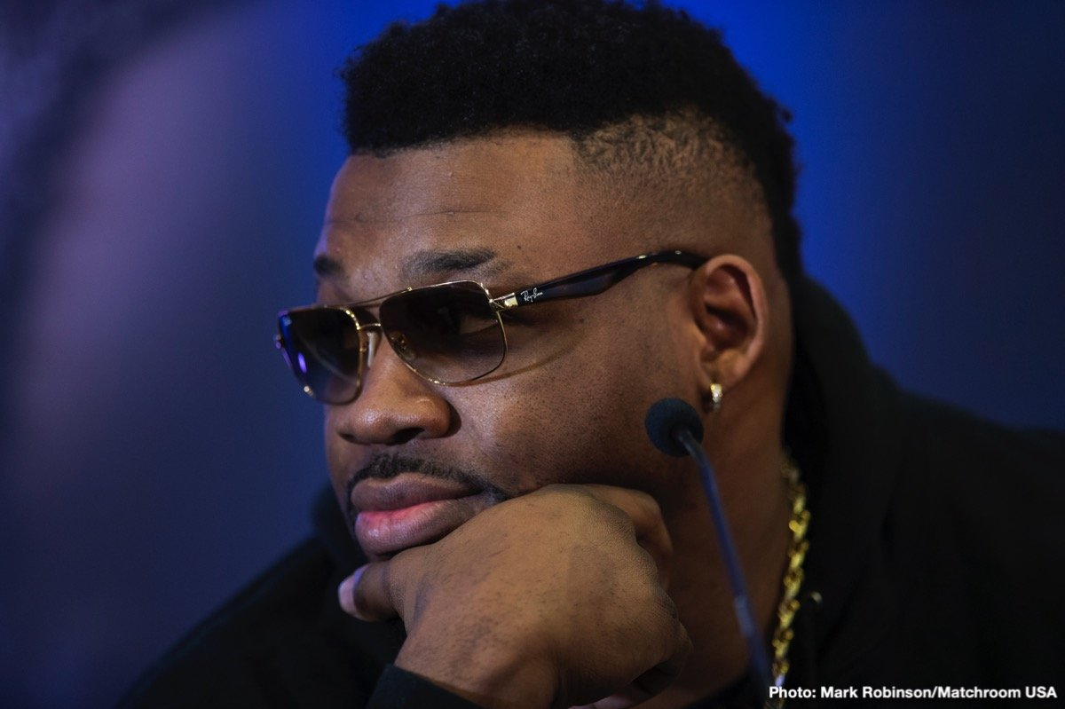 Jarrell Miller - It looks as certain as can be that Jarrell Miller will not be fighting heavyweight champ Anthony Joshua on June 1 - or at any other time. News has been reported by multiple sources, including Ringtv.com, how Miller has tested positive for a SECOND banned substance, this one a HGH, or Human Growth Hormone.