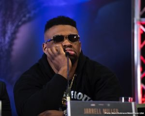 """Jarrell """"Big Baby"""" Miller - As fans have no doubt heard by now, heavyweight contender Jarrell Miller has failed a drugs test ahead of his scheduled June 1 challenge of WBA/WBO/IBF heavyweight champ Anthony Joshua. While Miller may be headed for a great fall – not only is he facing the possibility of losing the June fight but also an enormous amount of credibility and trust from the paying public – fans are more concerned with the overall state of the beloved heavyweight division. And what a terrible state it really does seem to be in."""