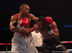 Chris Eubank -  Middleweight star Chris Eubank Jr. and top contender Matt Korobov shared their thoughts on their upcoming showdown for the Interim WBA Middleweight Title taking place Saturday, December 7 live on SHOWTIME from Barclays Center, the home of BROOKLYN BOXING™.