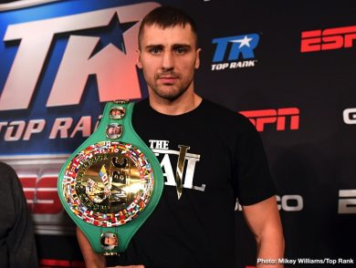 Doudou Ngumbu Oleksandr Gvozdyk Boxing News