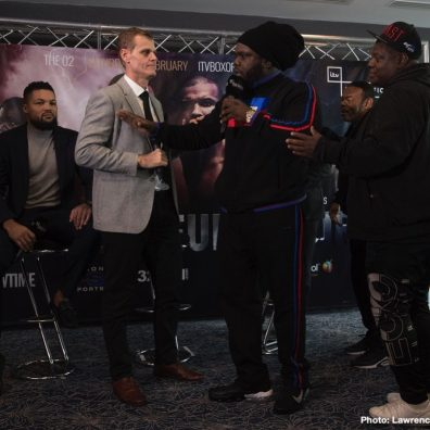 Stiverne Joyce Battle It Out On Saturday On Showtime And