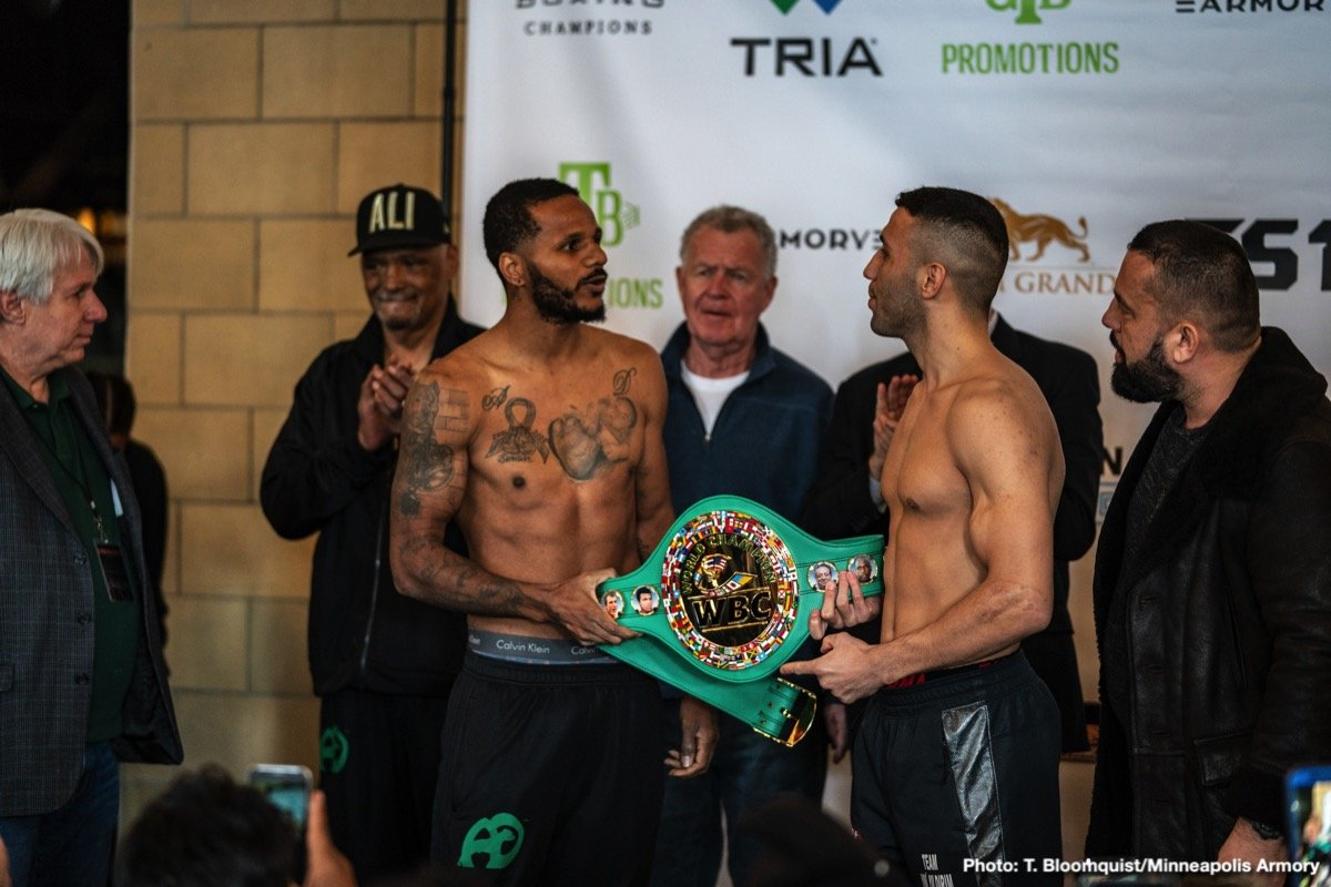 Andre Dirrell, Avni Yildirim, Chris Eubank Jr, James DeGale - The last weekend of the month of February features an interesting matchup on paper between James DeGale and Chris Eubank Jr. The PBC on FS1 returns to the Minneapolis Armory in a show headlined by Anthony Dirrell and Jamal James. The undercard bouts on both events should give fans something to sink their teeth in. We boxing degenerates have been somewhat surprised on how several of these mediocre matchups on paper paid off in the ring so far in 2019.