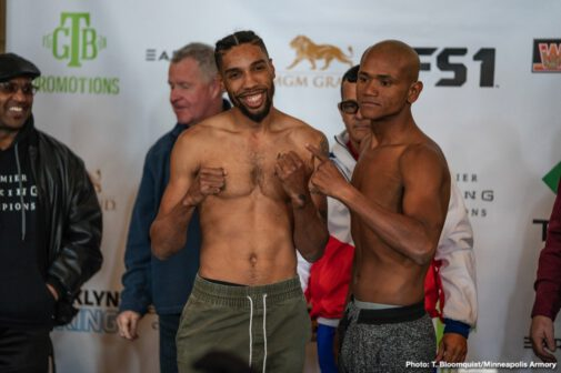 Anthony Dirrell, Avni Yildirim -  Former champion Anthony Dirrell and 168-pound contender Avni Yildirim exchanged words at a heated final press conference on Thursday before they battle this Saturday for the vacant WBC Super Middleweight World Championship in the main event of Premier Boxing Champions on FS1 and FOX Deportes from the Armory in Minneapolis.
