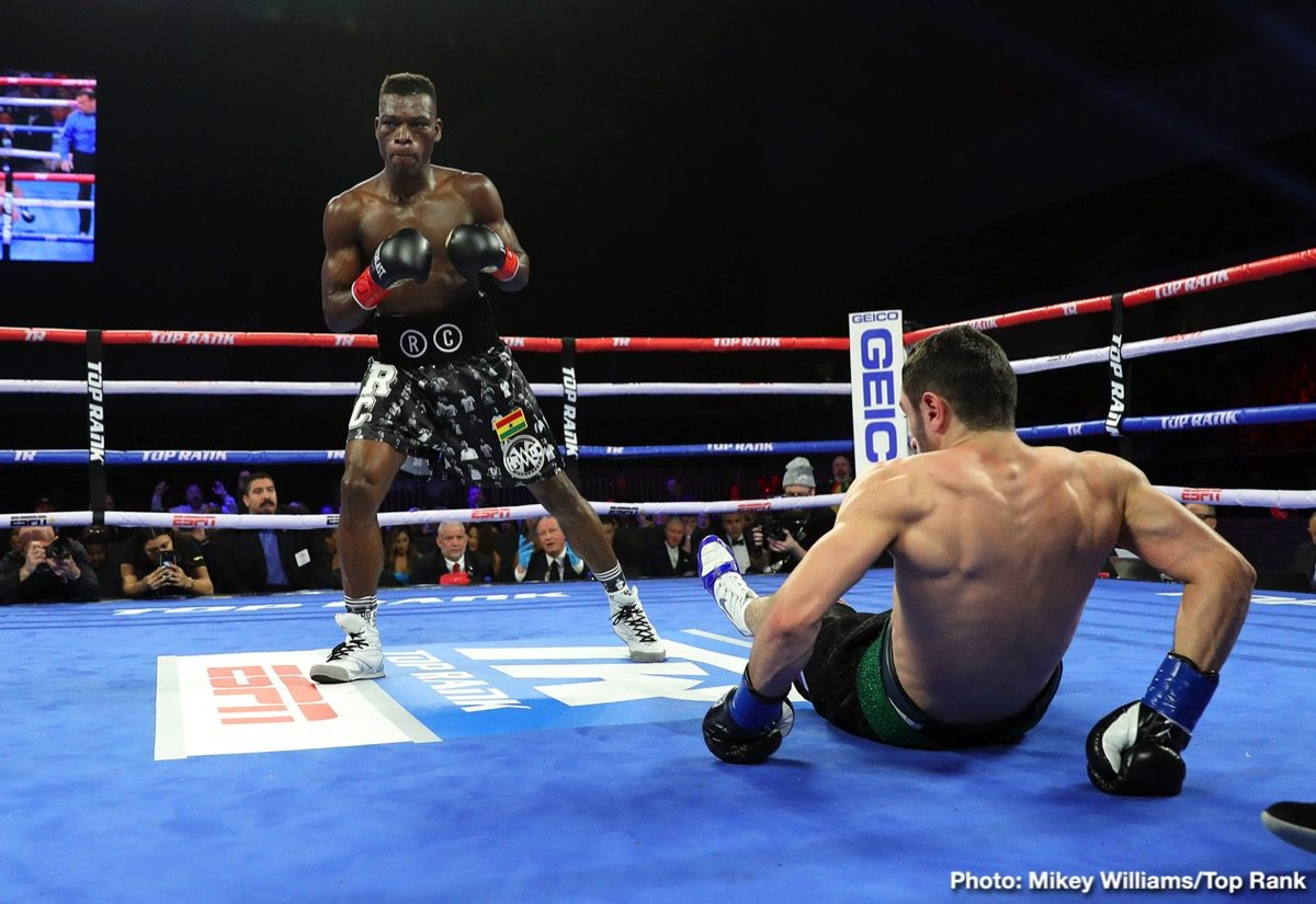 Richard Commey Boxing News Boxing Results