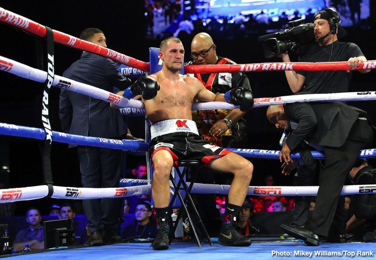Canelo Alvarez Sergey Kovalev Boxing News