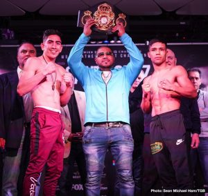 Rafael Rivera - There was no love lost on Valentine's Day in Los Angeles as fighters competing on Saturday's Premier Boxing Champions on FOX and FOX Deportes exchanged words and went face-to-face at the final press conference before their respective showdowns this Saturday night at Microsoft Theater at L.A. Live.