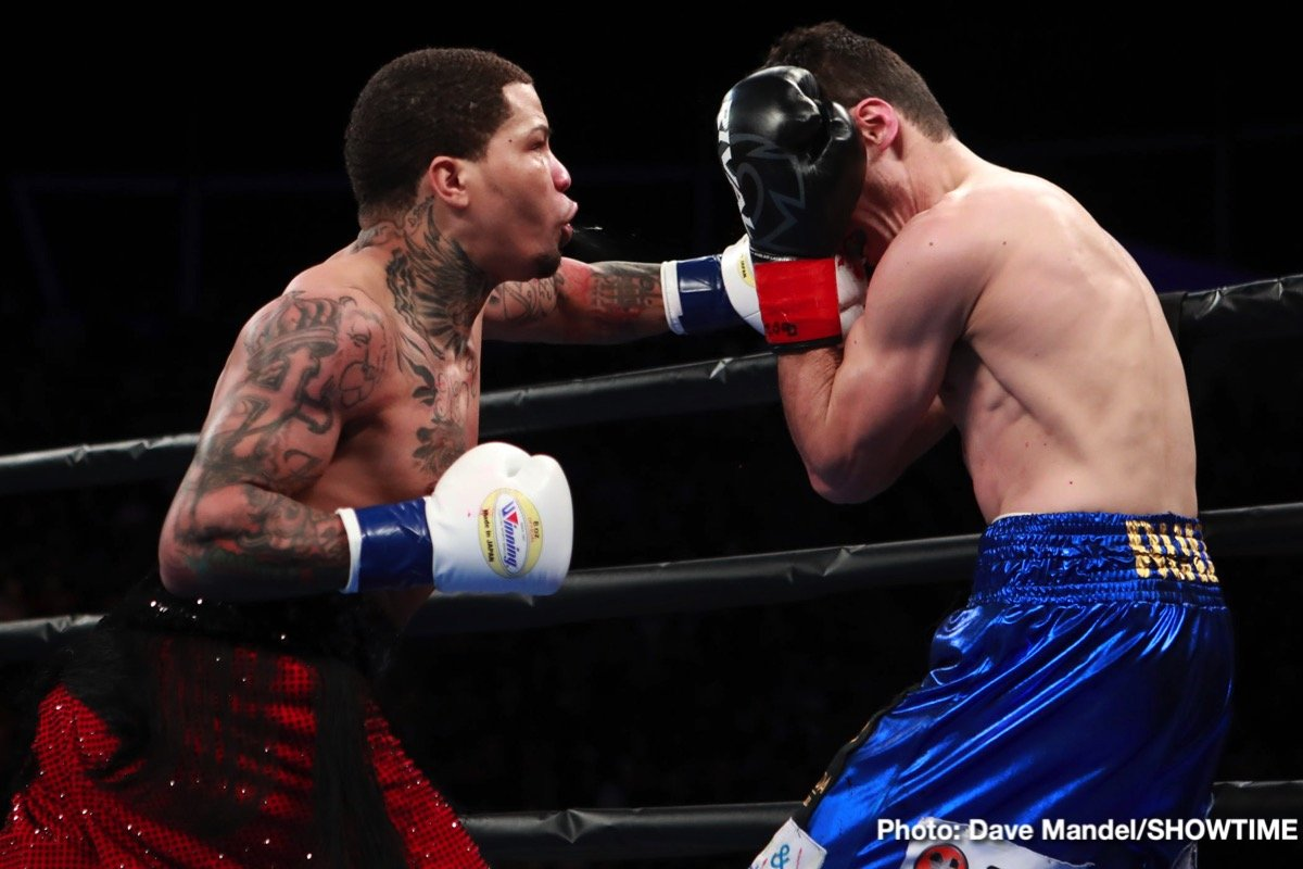 Gervonta Davis defended his WBA Super Featherweight World Championship with a thrilling first-round TKO of former world champion Hugo Ruiz before a sellout crowd of 8,048 at Dignity Health Sports Park Saturday non SHOWTIME.