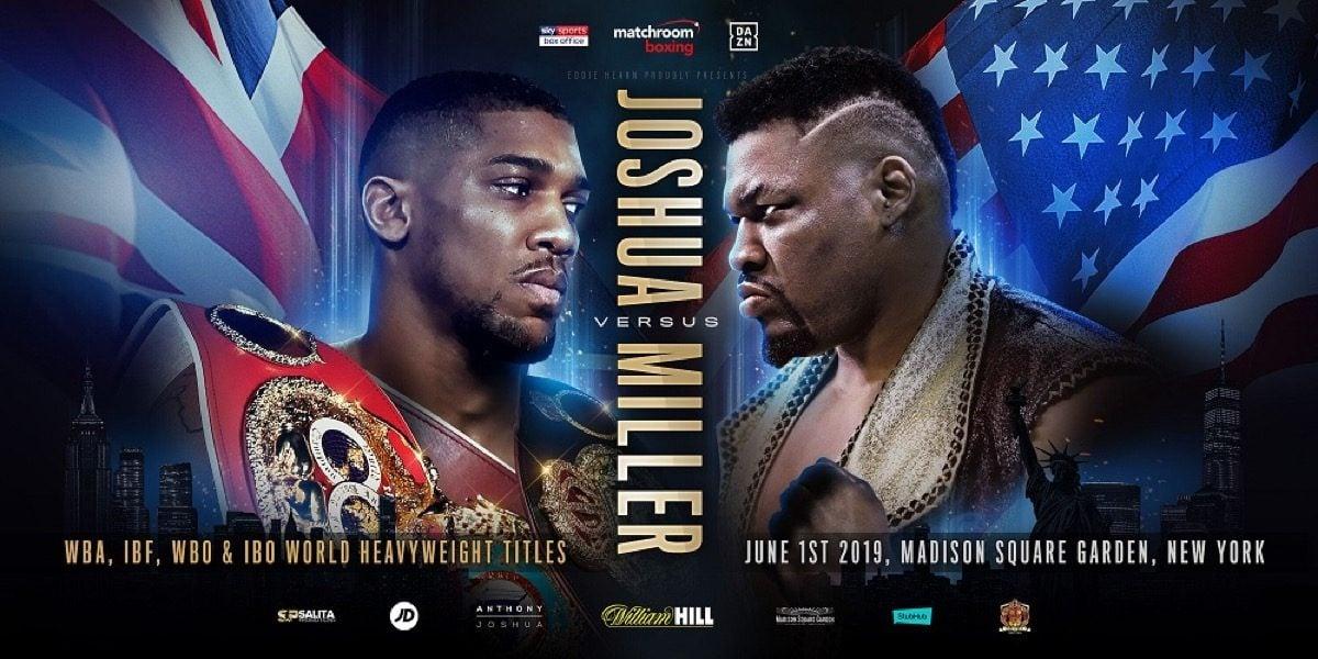 "Anthony Joshua Jarrell ""Big Baby"" Miller Boxing News"