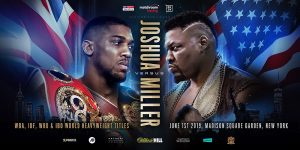 "Anthony Joshua, Jarrell ""Big Baby"" Miller - Jarrell 'Big Baby' Miller isn't just planning on showing up to get a paycheck against IBF/IBO/WBA/WBO heavyweight champion Anthony Joshua on June 1. Miller (23-0-1, 20 KOs) says he's going to beat Joshua (22-0, 21 KOs) and use his weight advantage to run him over in their fight at Madison Square Garden in New York."