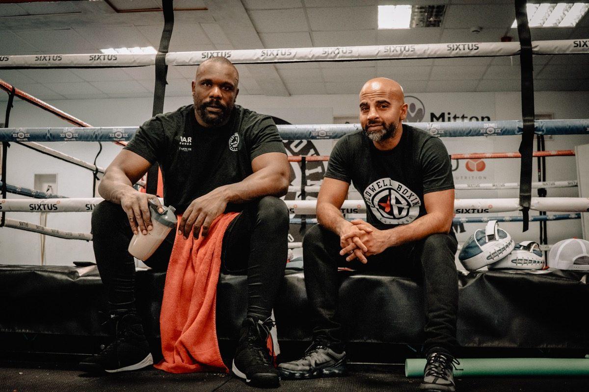 Dereck Chisora British Boxing Press Room