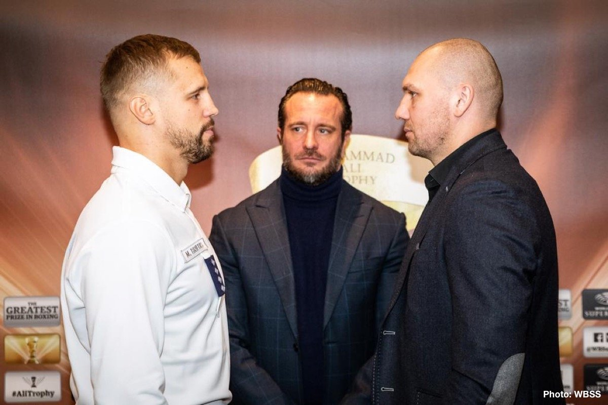 Krzysztof Glowacki - Latvia's Mairis Briedis (25-1, 18 KOs) and Poland's Krzysztof Glowacki (31-1, 19 KOs) exchanged words and went head-to-head at the kick-off press conference in Riga ahead of their 200lb semi-final clash at the Arena Riga in Riga, Latvia.