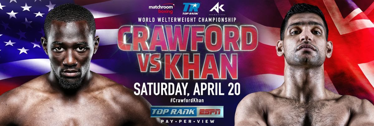 Image result for Amir Khan vs Terence Crawford Live buttons