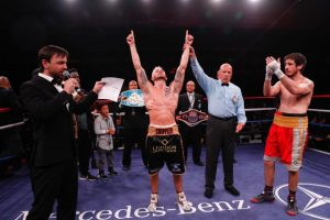 """Stuart McLellan - An all-Canadian grudge match was settled tonight in emphatic fashion as hometown hero Cody """"The Crippler"""" Crowley (17-0, 9 KOs) made the third successful defense of his CPBC Canadian and International Super Welterweight Championships, and remained undefeated, with a dominant unanimous decision over former Canadian champion Stuart McLellan (25-3-3, 10 KOs)."""