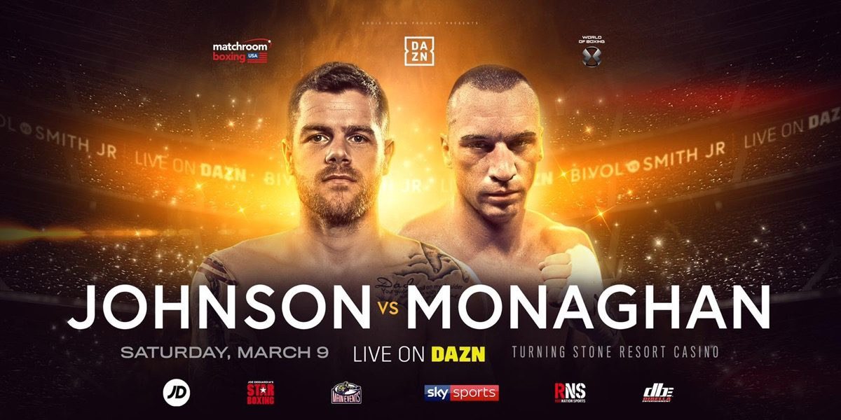 Callum Johnson Seanie Monaghan British Boxing Press Room