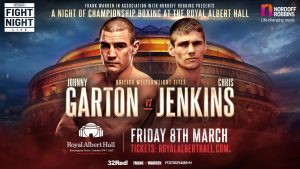 Chris Jenkins - CHRIS JENKINS believes he'll finally ditch his nearly man tag when he challenges British welterweight champion Johnny Garton.