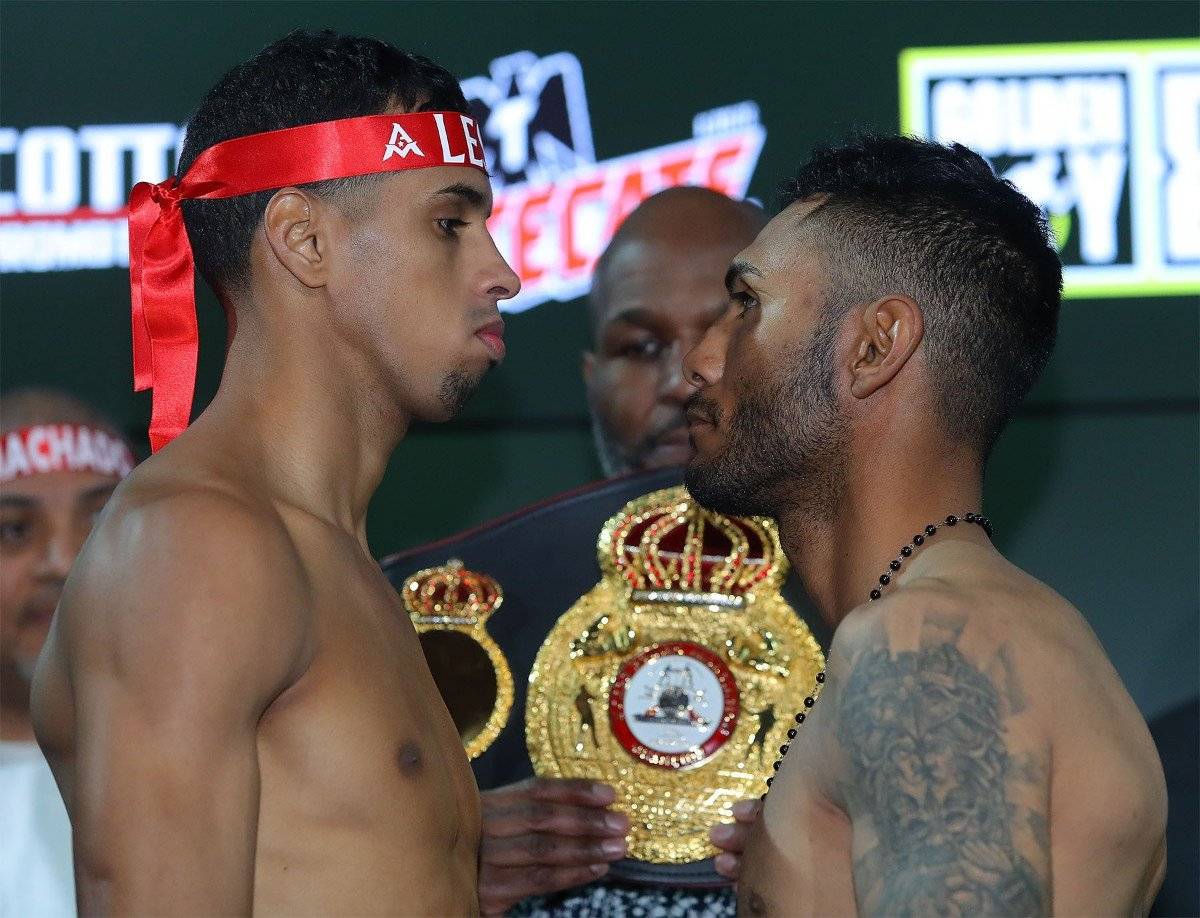 "WBA Super Featherweight World Champion Alberto ""Explosivo"" Machado (21-0, 17 KOs) of San Juan, Puerto Rico and 130-pound contender Andrew ""El Chango"" Cancio (19-4-2, 14 KOs) of Blythe, Calif. hosted their final press conference at the Golden Boy Promotions headquarters in Los Angeles ahead of their 12-round battle. The event will take place on Saturday, Feb. 9, 2019 at Fantasy Springs Resort Casino in Indio, Calif. and will be streamed live on DAZN - which is just $9.99 per month after a one-month free trial."