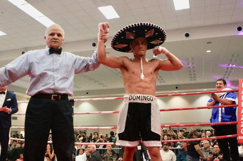 """- Last night at the sold out Floresville Event Center, in Floresville, TX, Prince Ranch Boxing's rising star and 5-Time National Champion, Ricky """"El Castigo"""" Medina (3-0, 2 KO), was dominate in defeating Jose Casiano (1-1-1), going the distance (4-rounds) for the first time in his career.  The event titled """"Small Town Big Showdown"""" was promoted by Medina's promoter, TMB & PRB Entertainment."""