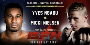 Micki Nielsen - Micki Nielsen (25-1, 15 KOs) is full of confidence as he prepares to challenge Yves Ngabu (19-0, 14 KOs) for the European Cruiserweight title on Saturday night at the Eventhal Schiervelde in Roeselare, Belgium.