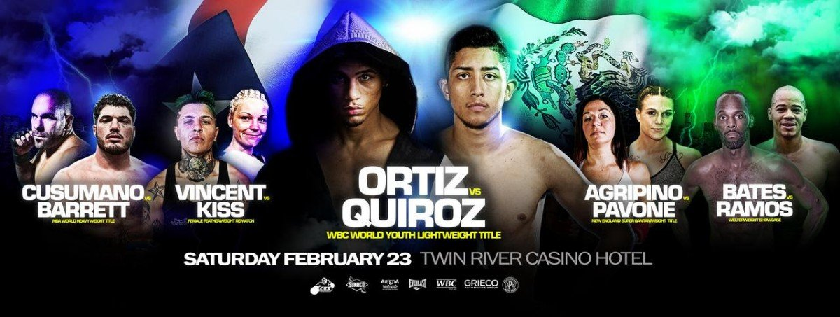 - The highly-anticipated CES Boxing season opener continues to get better with two major additions to the lineup.