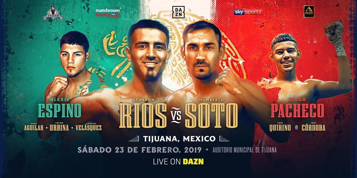 Brandon Rios Humberto Soto Boxing News Boxing Results