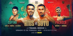 "Brandon Rios - Humberto ""La Zorrita"" Soto (69-9-2, 37 KOs) was too crafty for Brandon 'Bam Bam' Rios (35-5-1, 26 KO) in beating him by a 12 round unanimous decision on DAZN on Saturday night in a minor upset at the Auditorio Municipal, in Tijuana, Mexico."