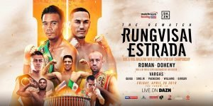 Srisaket Sor Rungvisai - Srisaket Sor Rungvisai and Francisco Estrada rematch and Daniel Roman and TJ Doheny clash in a unification bout at The Forum in Los Angeles on Friday April 26 live on DAZN in the US and on Sky Sports in the UK – and tickets for the blockbuster fight night are on sale now! **TICKETS START FROM JUST $25 AND ARE ON SALE NOW FROM TICKETMASTER**