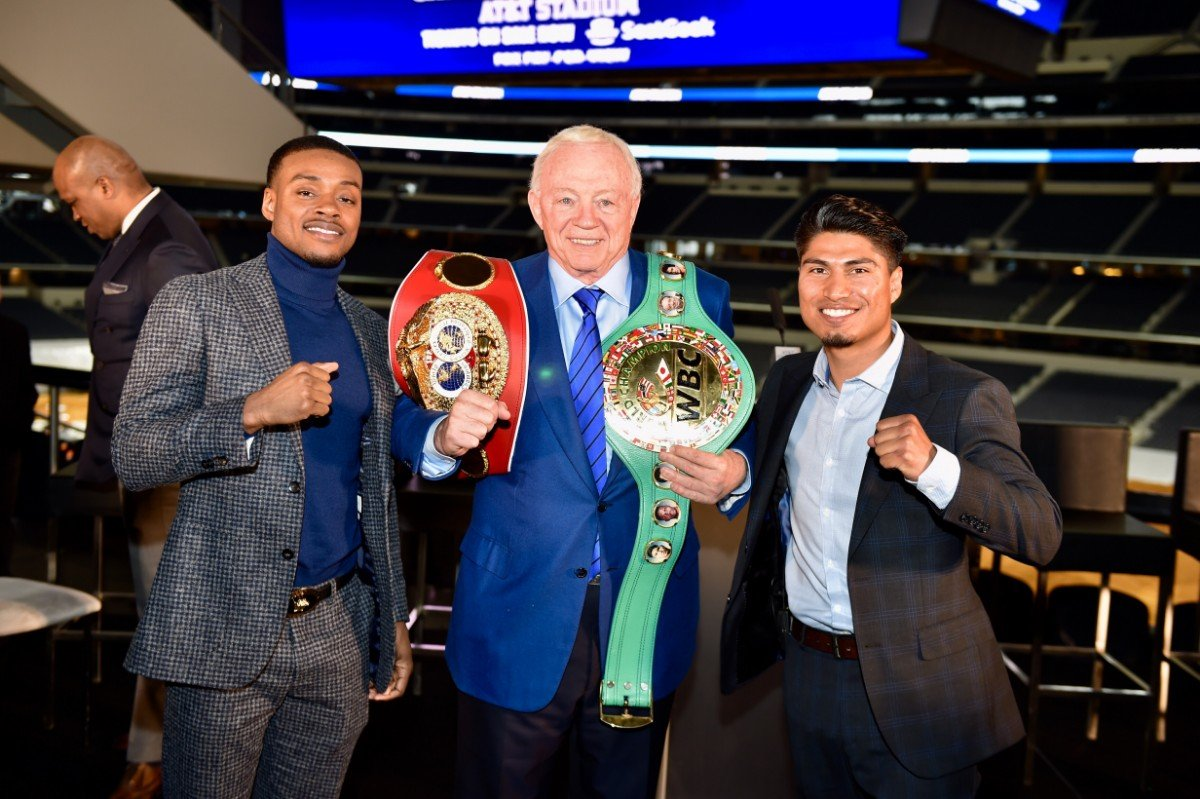 Errol Spence Jr., Mikey Garcia - Press Room