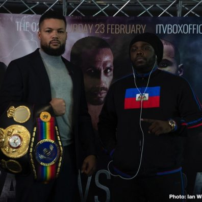 Bermane Stiverne Joe Joyce Boxing News British Boxing