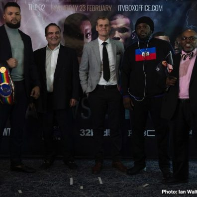Bermane Stiverne Joe Joyce Boxing News British Boxing