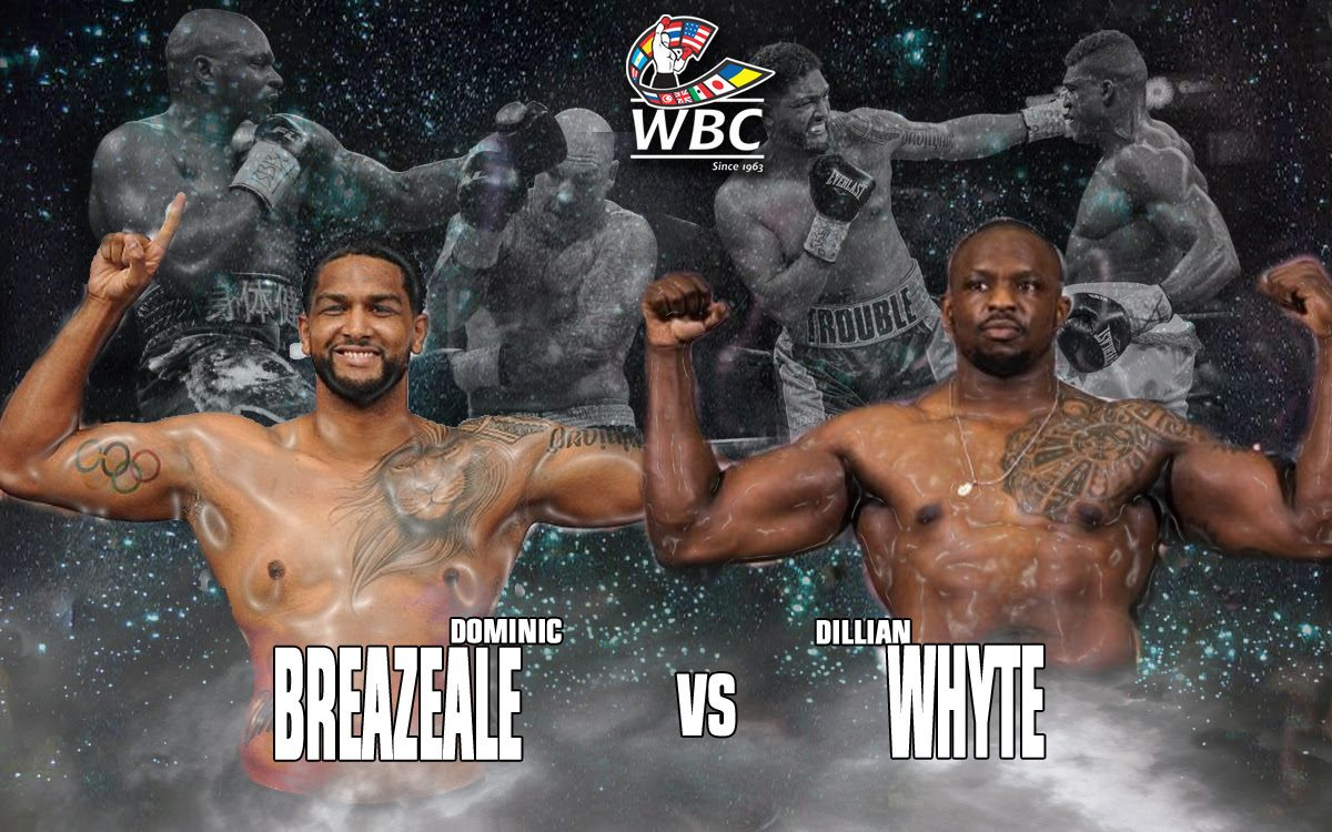 Dillian Whyte Dominic Breazeale Boxing News