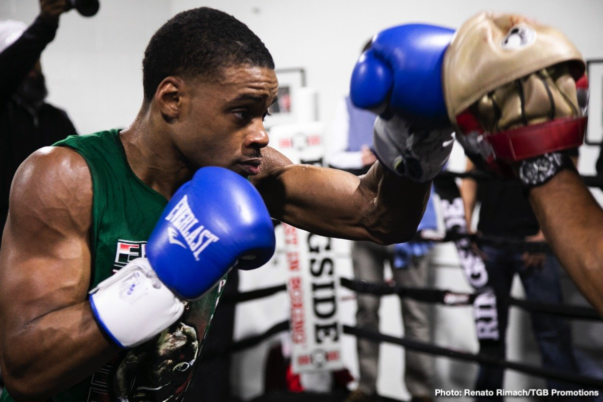 Errol Spence Jr. - As we all know, there are two sayings in boxing. The first one is, a great big man always beats a great smaller man. If that holds true, Errol Spence Jr. will be crowned in Dallas. But there is another saying, made famous by none other than Floyd Mayweather, that skills pay the bills. And if that holds true, Mikey Garcia will be crowned.