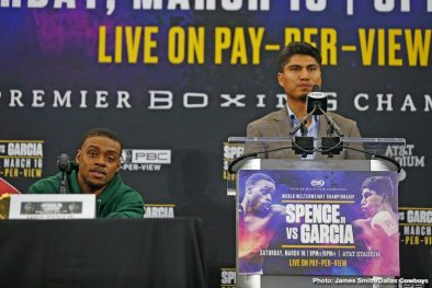 Errol Spence Jr. Mikey Garcia