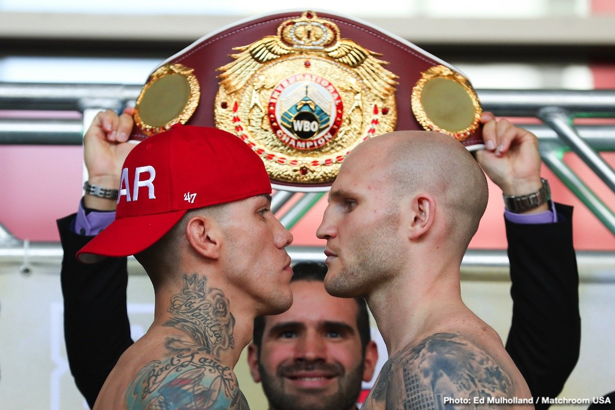 Gabriel Rosado - Gabriel Rosado is gunning for a meeting with WBO World champion Demetrius Andrade as he prepares to face Maciej Sulecki on Friday night (March 15) at the Liacouras Center, Philadelphia live on DAZN in the US and Sky Sports in the UK.
