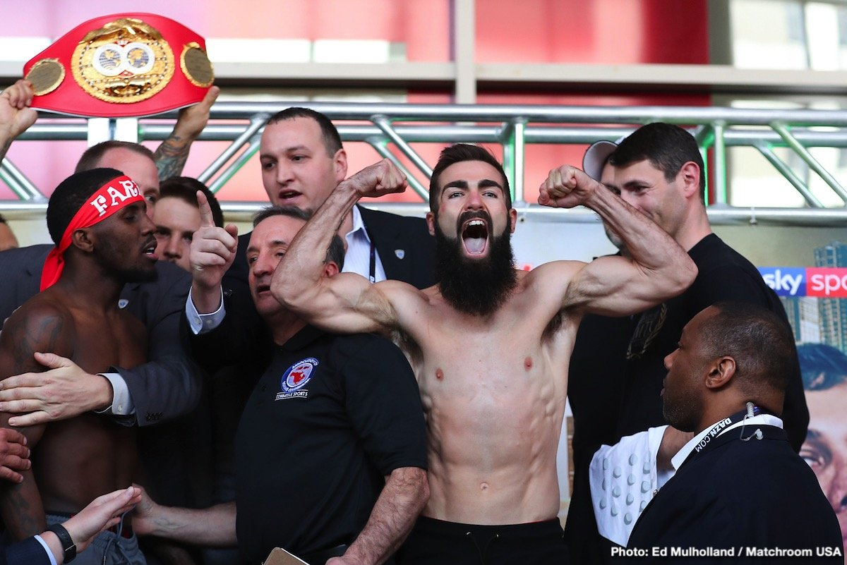 Jono Carroll - Jono Carroll says his clash with IBF World Super-Featherweight champion Tevin Farmer is a dream come true as they meet tonight at the Liacouras Center in Philadelphia, PA live on DAZN in the US and on Sky Sports in the UK.