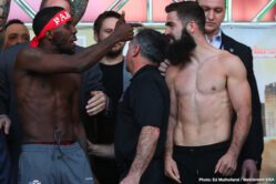 Jono Carroll, Tevin Farmer - Friday's event will be broadcasted live on DAZN with coverage beginning at 7 pm ET and main card starting at 9 pm ET