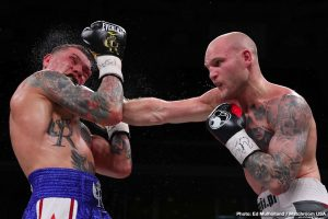 Gabriel Rosado - In an exciting fight from start to finish,  Maciej Sulecki (28-1, 11 KOs) outworked Gabriel Rosado (24-12-1, 14 KOs) in defeating him by a 10 round unanimous decision on DAZN on Friday night at the Liacouras Center, in Philadelphia, PA. The scores were 95-93, 95-91 and 95-91.