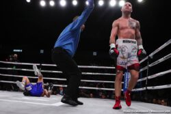 Gabriel Rosado, Luke Campbell, Maciej Sulecki - In an exciting fight from start to finish,  Maciej Sulecki (28-1, 11 KOs) outworked Gabriel Rosado (24-12-1, 14 KOs) in defeating him by a 10 round unanimous decision on DAZN on Friday night at the Liacouras Center, in Philadelphia, PA. The scores were 95-93, 95-91 and 95-91.