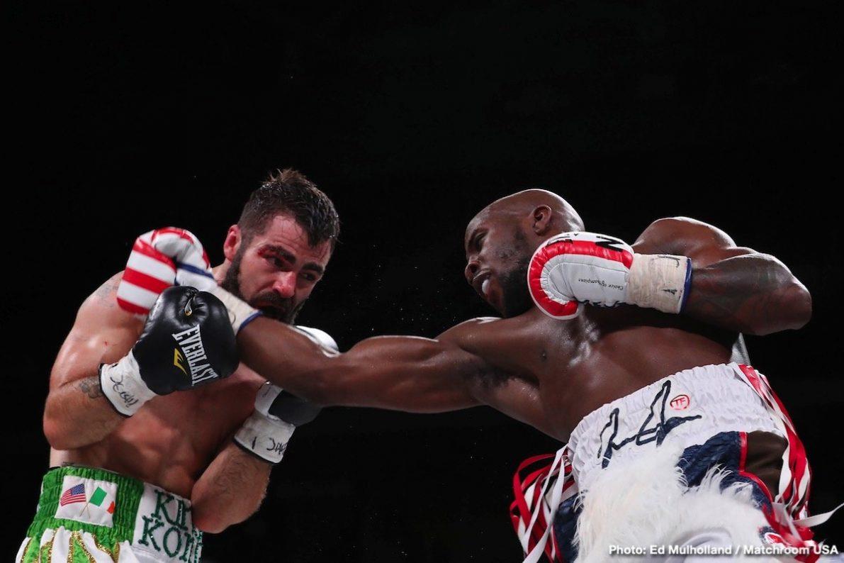 DAZN Jono Carroll Tevin Farmer Boxing News Boxing Results