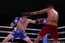 Dmitry Bivol, Joe Smith Jr. - In a thrilling night of boxing, WBA Light Heavyweight Titlist Dmitry Bivol defended his belt in a technical fight against Joe Smith Jr., and Maurice Hooker retained his WBO Lightweight Title after going the distance with Mikkel LesPierre who hit the canvas once. Callum Johnson, with his eyes on a title shot, stopped Sean Monaghan with a dominant performance in a Light Heavyweight battle.