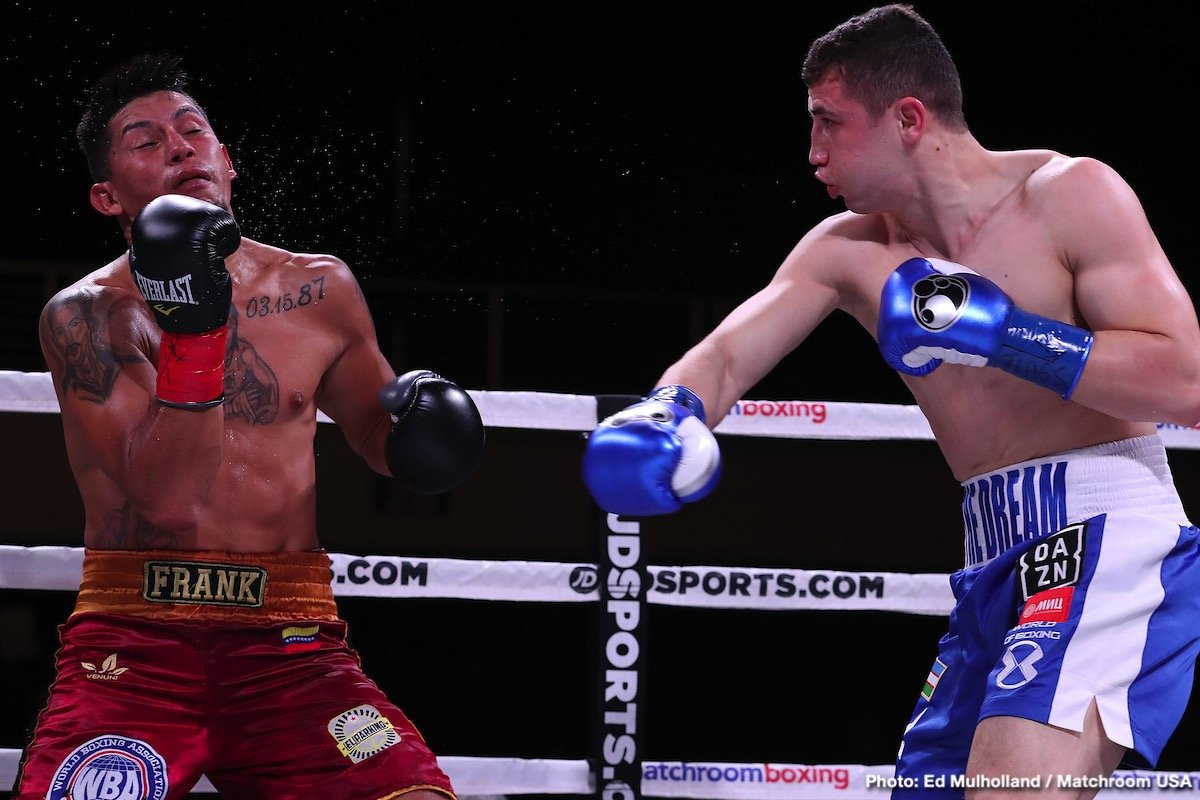Israil Madrimov, Jeison Rosario - Uzbek star Israil 'The Dream' Madrimov, (5-0, 5 KOs), is in his native Uzbekistan staying in shape for when boxing returns and is emphatic about what the next steps in his career should be.