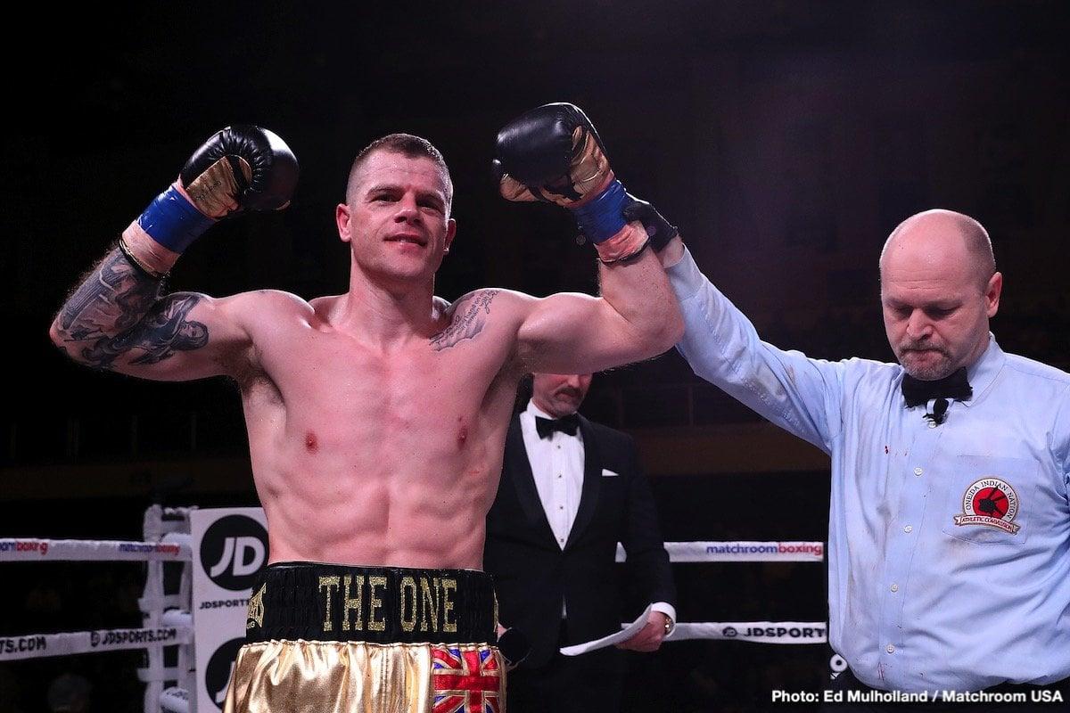 Callum Johnson - British Boxing
