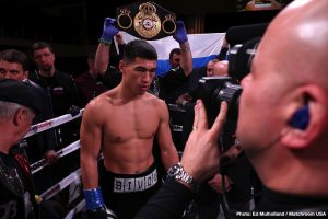 Dmitry Bivol - Returning to Los Angeles to commence training last week, WBA Light Heavyweight World Champion, Dmitry Bivol, (16-0-0, 11 KOs), is seeking the toughest challenges and the biggest fights next for his career. The 28-year-old native of St. Petersburg, Russia, fighting out of Los Angeles, CA has made five successful defenses of his world title since becoming world champion in 2017.
